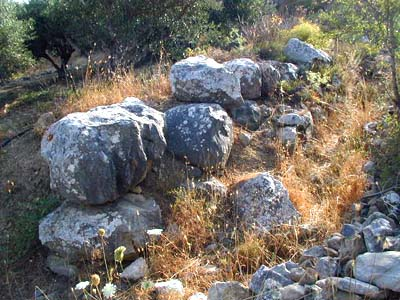 Stone Foundation of Minoan Building