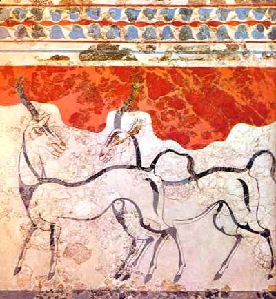 Antelope fresco shows purely ThĆ?Ā©ran style