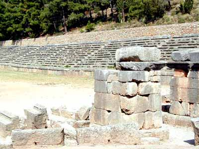 Sports Stadium at Delphi