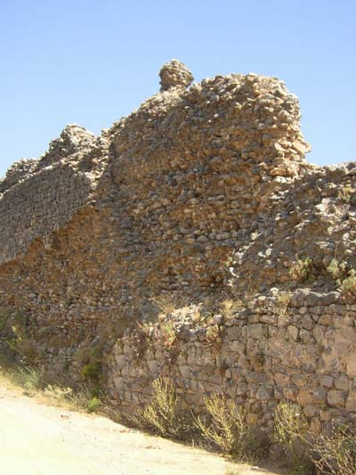 Aquaduct wall