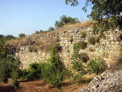Ruins of Lyttos aqueduct